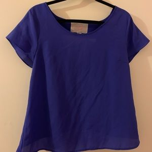 F21 short sleeve top - size M